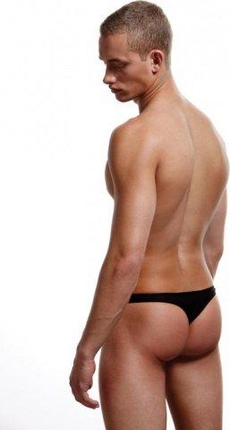 Тонги, трусы мужские, черные, фото 4