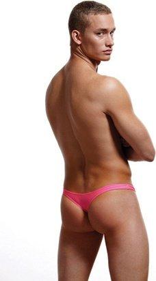Тонги, мужские трусы, розовый, фото 2