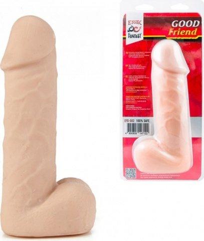 Толстый фаллос с мошонкой good friend 16 см