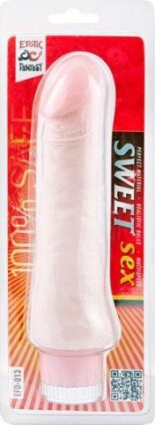 Телесный вибратор sweet sex 17 см, фото 3
