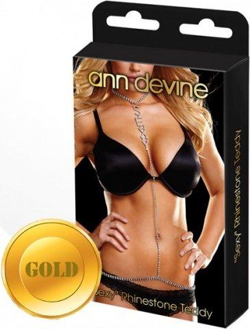 Украшение на тело sexy золотое