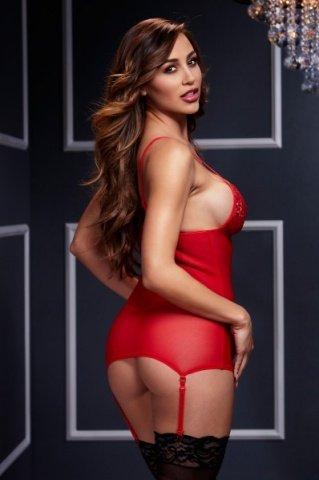 Комбинация красная, фото 2