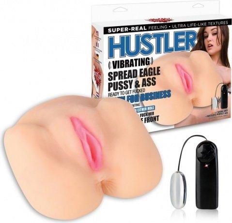 Вибро-мастурабтор в позе раздвинутых ног от sasha grey by hustler