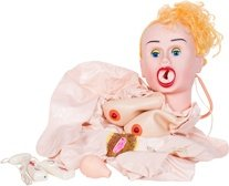 Надувная куклая inflatable doll fantasia телесная, фото 3