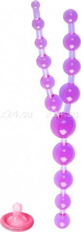 Фиол шарики анал тройные, фото 3
