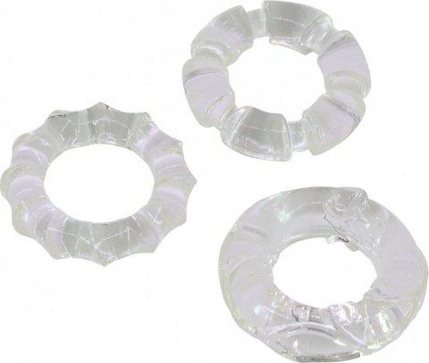 Эрекционное кольцо прозрачное