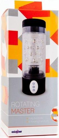 Вибромастурбатор Rotating Master, 6 режимов ротации, фото 2