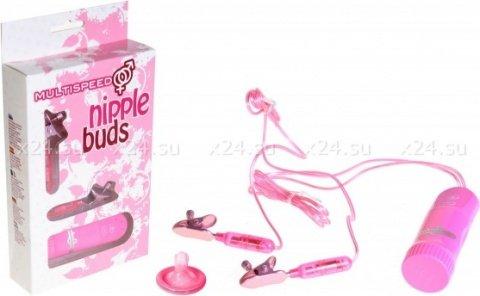 Вибростимуляторы для груди nipple clamps pink 15-72cpr-lpr-bxsc