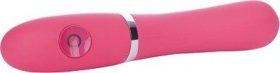 Вибратор, 7 режимов вибрации, розовый