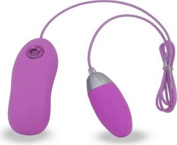 Виброяйцо, 7 режимов вибрации, фиолетовое