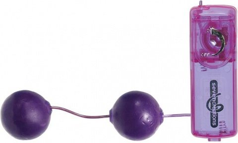 Шарики с вибрацией jelly lavender 2k82jlv-bcdsc, фото 3