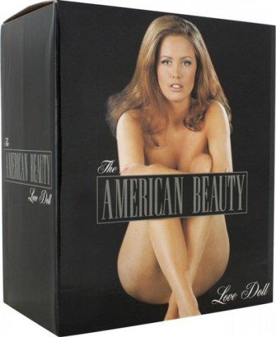 Секс-кукла с функцией вибрации Американская красавица