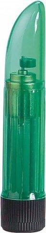 Миниатюрный вибратор ladyfinger green 4040cgr-bxsc