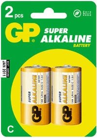 Батарейка 14 А (алкалин) в пленке по 2 шт