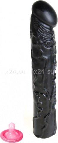 Фаллос длинный черный Big Bonanza, фото 4