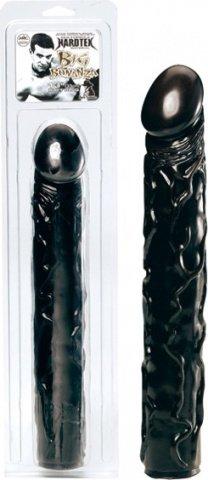 Фаллос длинный черный Big Bonanza, фото 9
