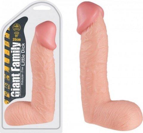 Фаллоимитатор little dick 28 см, фото 2
