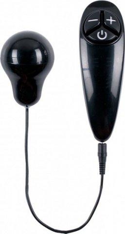 Вибропуля на пульте-wi brator bullet black, фото 2