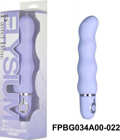 Вибратор 17,8 см, 10 режимов вибрации, силикон, фиолетовый