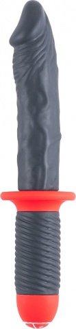 Силиконовый фаллос-меч Mr. E &amp 30 см, фото 3