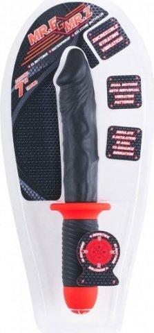 Силиконовый фаллос-меч Mr. E &amp 30 см, фото 4
