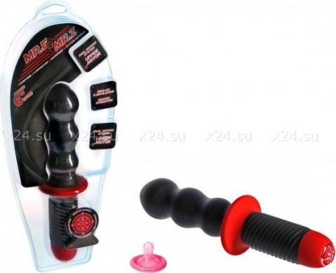 Силиконовый вибратор-меч Mr. E &amp Mr. Z 6 (10 режимов)