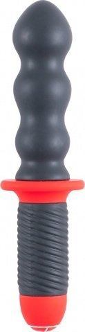 Силиконовый вибратор-меч Mr. E &amp Mr. Z 6 (10 режимов), фото 2