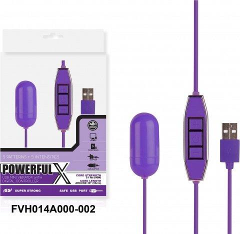 Виброяйцо, 10 режимов вибрации, фиолетовый