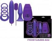 Вибронабор фиолетовый - Секс-шоп Мир Оргазма