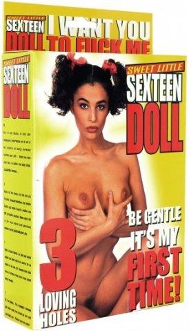 Кукла Sexteen Doll Black Hair, черные волосы, 160 см