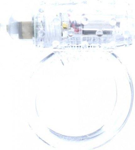 Виброкольцо cockring silicon vibr clear 2k771clsc, фото 4