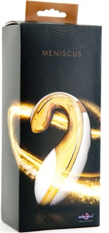 Клиторальный стимулятор перезаряжаемый бело/золотой, фото 3