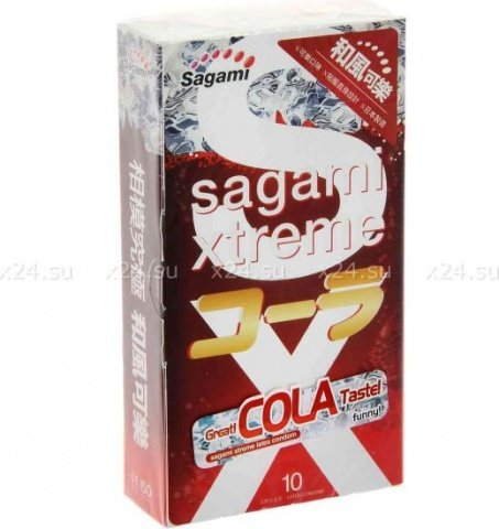 Презервативы Sagami Cola, 10 шт
