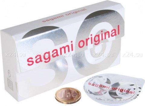 Ультратонкие полиуретановые презервативы Original 0,02 мм (6 шт.)
