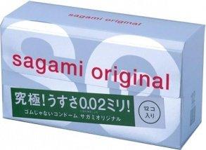 Ультратонкие полиуретановые презервативы Original 0,02 мм (12 шт.), фото 2
