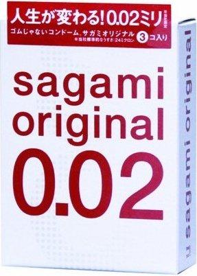 Sagami original 0.02 ультротонкие, гладкие, фото 3