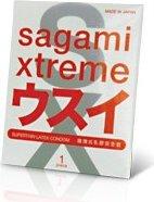 Презервативы Sagami Xtreme Superthin 1`S