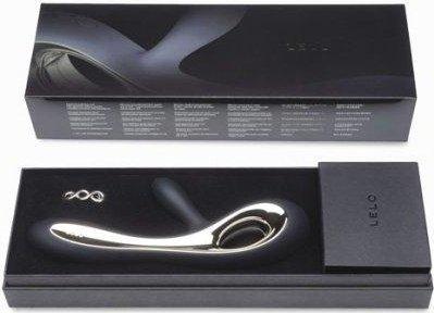 Soraya Black Вибромассажер с клиторальным стимулятором (черный) 22 см, фото 5