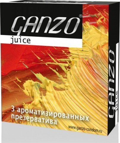 Презервативы ganzo juice цветные и ароматизированые -1 блок (24 уп), фото 6