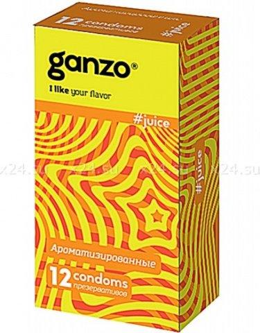 Презервативы Ganzo Juice Ароматизированные ШТ