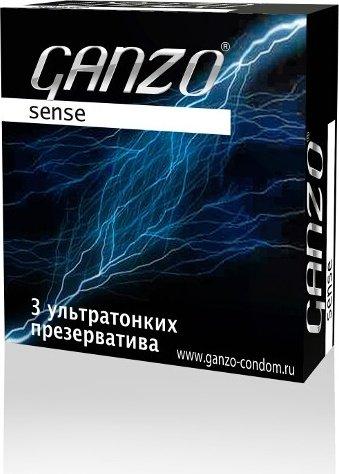 Презервативы Ganzo Sense 3 Ультратонкие - ШТ, фото 3