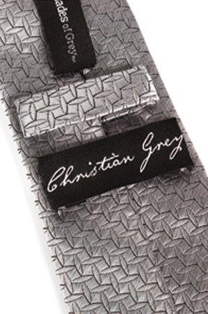 Фиксация в виде галстука Christian Greyвs Silver Tie серебристый, фото 2