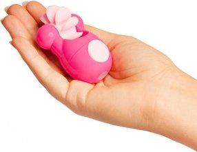 Клиторальный вибростимулятор Sqweel Go Pink розовый, фото 3