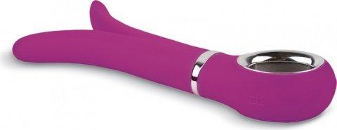 Анатомический вибромассажер Fun Toys Gvibe 2 Розовый, фото 3
