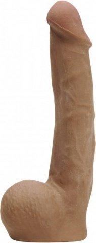 Фаллос коричневый Cyber Cock 20 см, фото 3