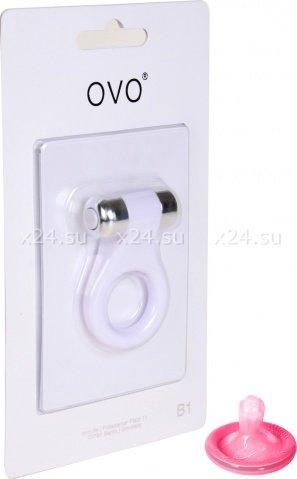 Эрекционное кольцо OVO с вибрацией, фото 3