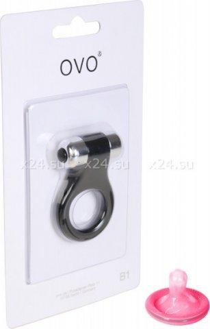 Эрекционное кольцо OVO с вибрацией