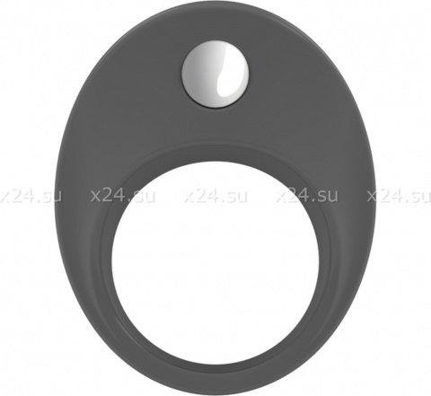 Широкое эрекционное кольцо на пенис OVO с вибрацией, фото 4