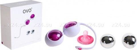 Вагинальные шарики фуксия + хром, фото 2