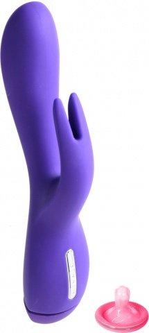 Вибратор Rabbit с клиторальным стимулятором (5 режимов) 20 см